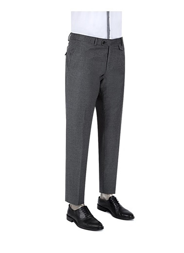 Damat Klasik Pantolon Gri